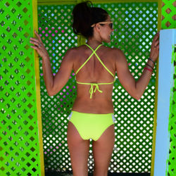 bikini aerie neon swimsuits nycpretty fashion surf style summer